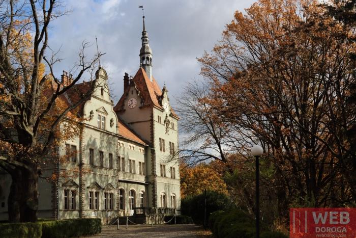 Вид на Дворец Шенборна