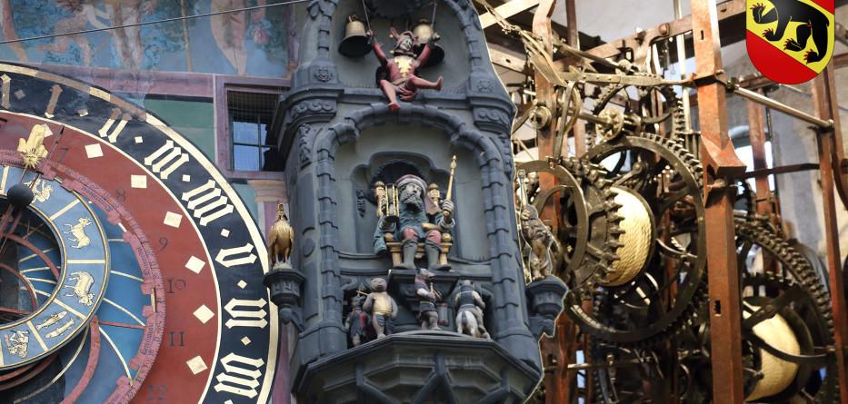 Часовая башня Цитглогге в Берне, Швейцария