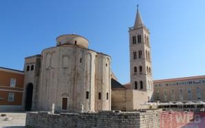 город Задар — жемчужина Далматии в Хорватии