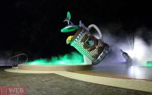 Ночные купания в термальных бассейнах Косино