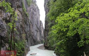 Ущелье Aareschlucht в Майринген — 1,5 км. комфорта и экстрима